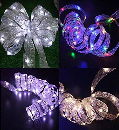 ✽ZEZKT-Home✽ LED Lichterkette warmweiß Innen Draht für die perfekte Dekoration Globe String Licht Sternenlicht Innen Außen Deko Glühbirne Weihnachten Hochzeit Party (Mehrfarbig)