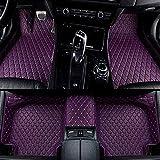 Congxy Alfombrillas Coche para Lexus RC RC F Alfombras Coche Y Moquetas para Coches, Lexus RC 2016-2018 Púrpura
