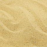 MGS SHOP Dekokies Dekosand Zierkies Natur Kies Sand maritim (5 kg, Beige 0-2mm)