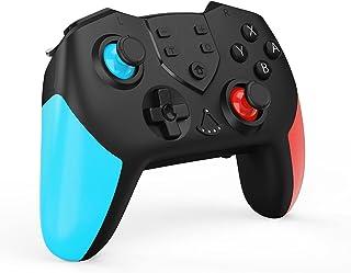 2021アマゾン最新 Switch コントローラー Switch プロコン HD振動 スリープ復帰 6軸ジャイロセンサー TURBO連射 プロコン Bluetooth接続 任天堂 Nintendo switch スイッチの全てシステムに対応 ス...