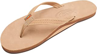 Rainbow Sandals Women's Single Layer Premier Leather Narrow Strap