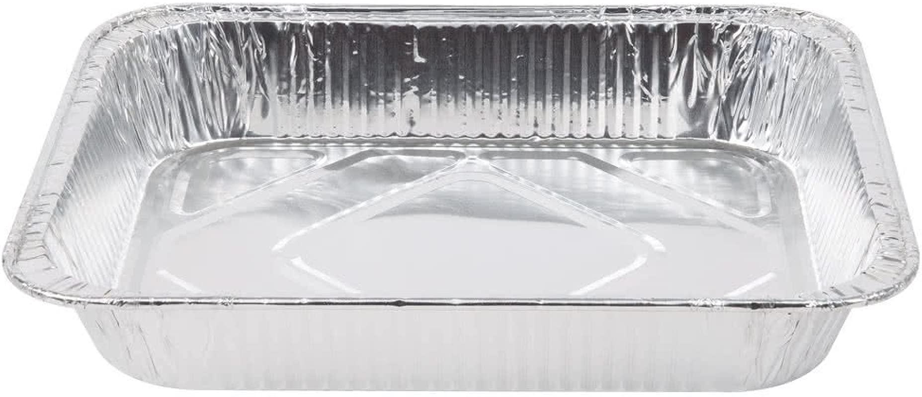 9 X 13 Half Size Heavy Duty Disposable Aluminum Steam Table Pans 5