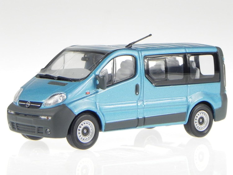 Opel Vivaro Kombi breeze blau Modellauto 430040511 Minichamps 1 43 B01D6O2Y96 Attraktiv und langlebig  | Modern Und Elegant In Der Mode
