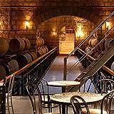 Fototapete europäischen Weinkeller Tapete KTV Bar Restaurant Industrie Lounge Halle Dekoration Bier Tasse Tapete Wandbild, 200 * 140