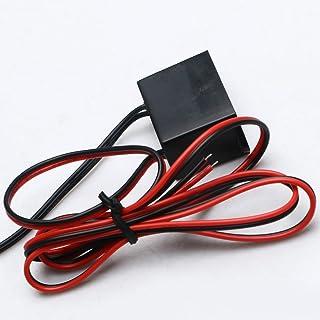 XUPHINX Mini DC12V Regulador de CC del inversor de corriente para EL Cable/Cinta/Panel Controlador electroluminiscente