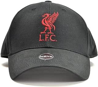 Liverpool Fc - Authentic Epl Fan Favourite Baseball Cap - Black Logo