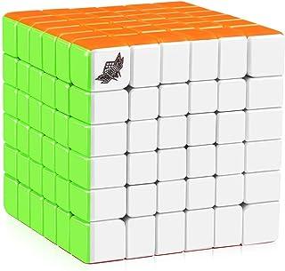 6x6 Rubix Cube Cyclone Boys Stickerless 6x6x6 Speed Cube Magic Cube Puzzles Toys 68mm