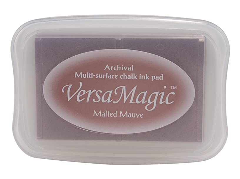 Tsukineko Full-Size VersaMagic Chalk-Finish, Malted Mauve