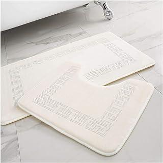 Gaveno Cavailia Lot de 2 Tapis de Bain Super Doux et Ultra absorbants 100% Polyester pour Salle de Bain et Toilettes, Tail...