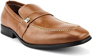 Men's 19501 Classic Round Toe Slip On Loafers Dress Shoes