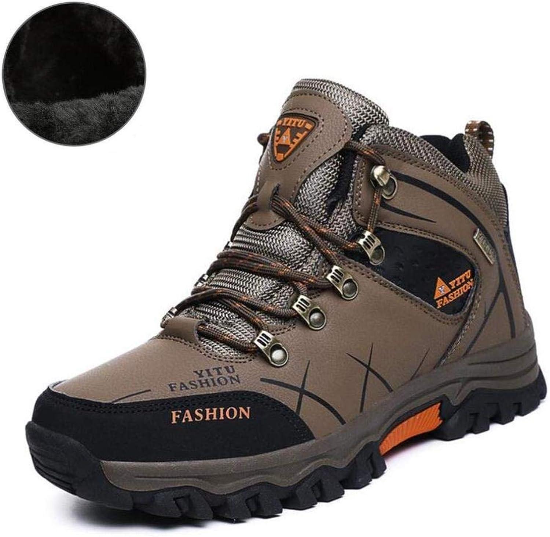 G'z Men's Hiking shoes,Artificial Pu Fall Winter Outdoor Climbing Sneakers,Slip-Ons Running shoes,Casual shoes Travel shoes
