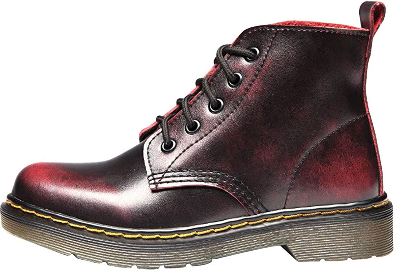 Hhgold Men And Women Winter Warm Martin Boots (color   21, Size   43EU)