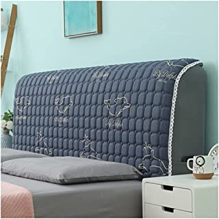 HDGZ Funda Protectora para Cabecero De Cama Tela Lado De La Cubierta A Prueba Polvo Lavable para La Decoración del Dormitorio (Color : L, Size : 210cm)