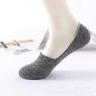 Calcetines Invisibles para Hombres Tendencias Coreanas Y Calcetines Invisibles para Hombres Calcetines Poco Profundos Invisibles Vintage 10 Pares