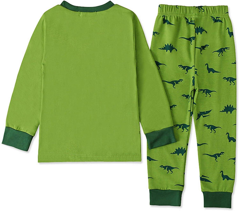 Pantalon Walabe Pyjama Bebe Garcon Hiver Vetement Gar/çon 2-8 Ans Automne Habit Ensemble Enfant Garcon Dinosaure Jogging Enfant Garcon Top T Shirt Printemps
