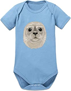 Shirtcity Robbe Seehund Baby Strampler by