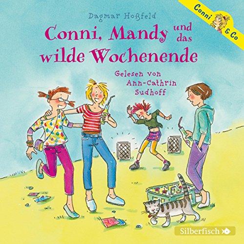 Conni, Mandy und das wilde Wochenende audiobook cover art