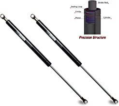 Beneges 2PCs Universal Gas Charged Lift Supports Spring Struts Shocks Dampers Force 100 Lbs/445 N Per Prop, Force Per Set 200 Lbs/896 N, Extended Length 20 inches C16-08054