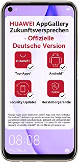 HUAWEI P40 lite Dual-SIM Smartphone (128 GB internet minne, Android 10.0 AOSP) sakura rosa