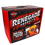 Renegade Products Big Rig & Semi Truck Metal Polishing Complete Kit with Buffing Wheels, Buffing Compound, Safety Flanges, Polishing Accessories and Rebel Red Liquid Metal Polish
