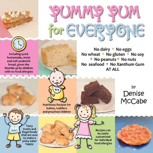 Yummy Yum for Everyone: A Childrens Allergy Cookbook (Completely...