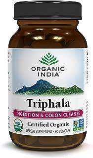 ORGANIC INDIA Triphala Supplement 90 Veg Capsules