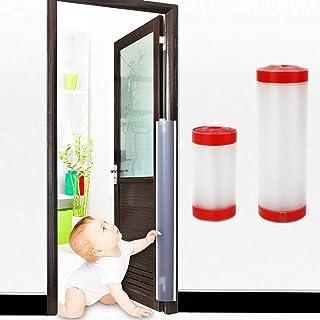 HIRO ドア 指はさみ防止 指挟み防止カバー 巻き込み 隙間カバー ガード ドア 子供 赤ちゃん 指 手 2枚セット (10cm×120cm+17cm×120cm)