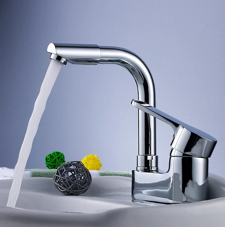 Armaturen im Badezimmer Doppel-Loch Doppel-Loch Doppel-Hole Waschbecken Wasserhahn mit Swivel Hot und Kalt Wasserhahn sinkt