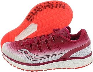 أحذية نسائية للجري فريدوم Iso من Saucony مقاس 7، اللون: التوت / أبيض