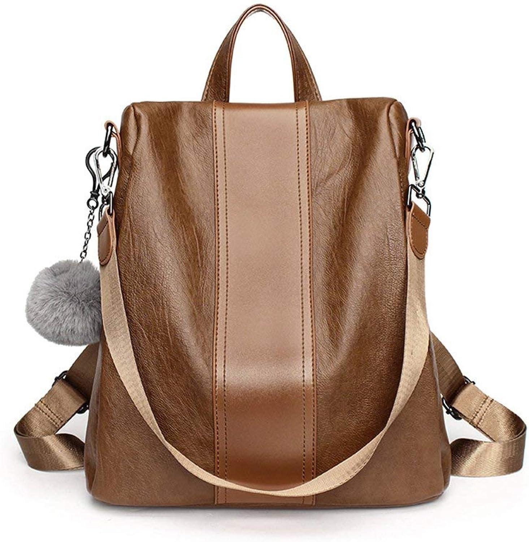 Screenes Daypacks Erwachsene Erwachsene Erwachsene Backpack Vintage Stylisch Rucksack Weibliche Große Kapazität Weiches Einfacher Stil Leder Personalisierte Reisetasche Xxpp (Farbe   Colour, Größe   One Größe) B07Q6R7LPN  Neueste Technologie 51d00d