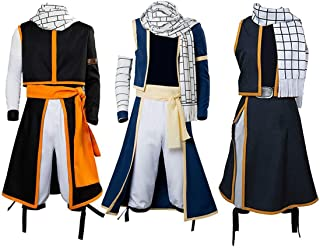 UU-Style Fairy Tail Etherious Natsu Dragneel Cosplay Costume Halloween Full Set Suit Outfit