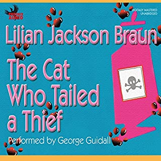 The Cat Who Tailed a Thief audiobook cover art