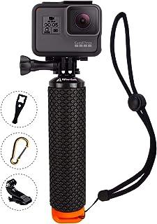 Hero2 Hero3+ Hero3 Hero+ LCD Hero+ SSE 48/″ High Grade Heavy Duty Extendable Handheld Monopod Selfie Stick Pole and Tripod Mount Adapter for GoPro Hero Hero4 Session Hero4
