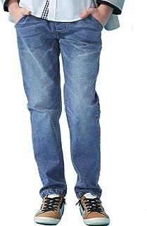 LEO&LILY Big Boys Kids Husky Rib Waist Stretch Denim Jeans Pants LLB621