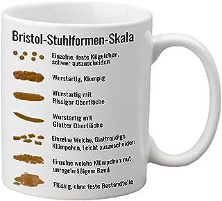 Bristol Silla Formas Escala Médicos Novedad Taza
