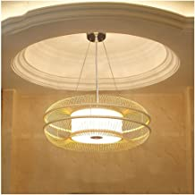 HN Lighting Chandelier, New Chinese Living Room Bedroom Pendant Light Japanese Tea Room Zen Creative and Warm Personality ...