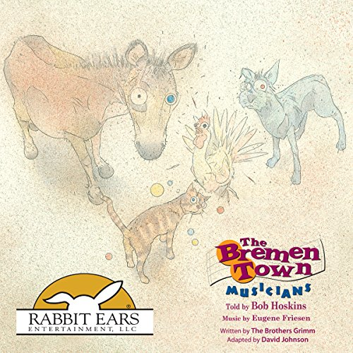 The Bremen Town Musicians audiobook cover art