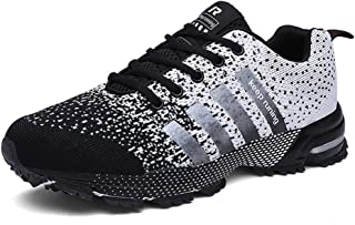 Men's Running Lightweight Breathable Sports Shoes Fashion Sneakers Walking Shoes