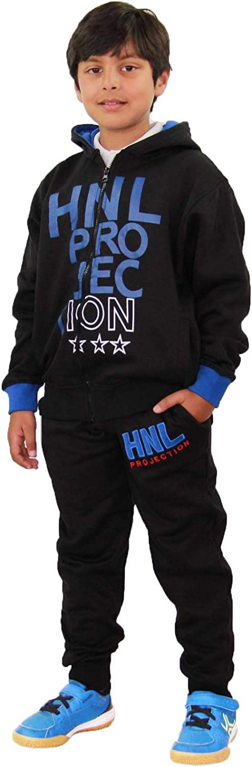 A2Z 4 Kids/® Kids Boys Girls Tracksuit HNL Projection Print Black /& Pink Hoodie /& Bottom Pullover Gym Wear Jogging Suit Joggers New Age 7 8 9 10 11 12 13 Years