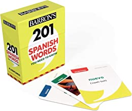 201 Spanish Words You Need to Know Flashcards (Barron's Foreign Language Guides)