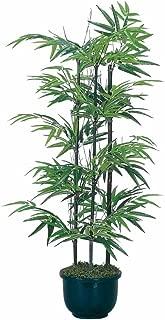 光触媒 人工観葉植物 光の楽園 黒竹 1.0m 176A120