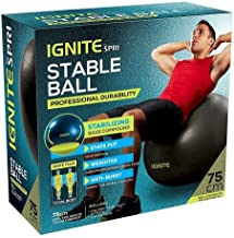 Ignite By Spri 75 Cm Exercise Stable Ball Professional Durability