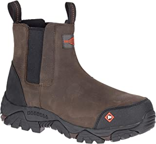 Merrell Moab Rover Pull On Comp Toe Work Boot Men's