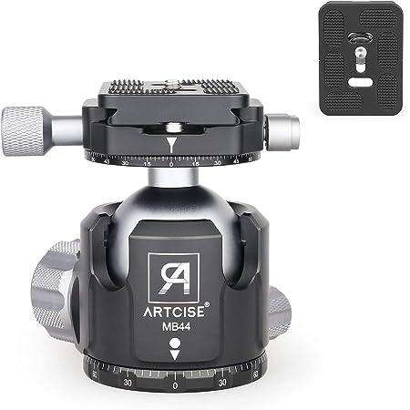 Low Profile Stativ Kugelkopf Artcise Mb52 Ganzmetall Kamera