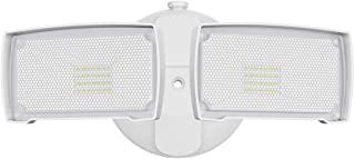 LEPOWER 3000LM LED Flood Light Outdoor, Switch Controlled LED Security Light, 28W Exterior Lights with 2 Adjustable Heads,...