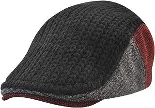 Wiwsi Fashion Winter Hat Men Warm Thick Autumn Knit Cap Casual Vintage Beret Cap