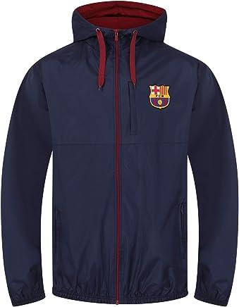 7d59668d9ae FC Barcelona - Chaqueta cortavientos oficial - Para hombre
