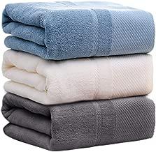 バスタオル 3枚セット 家庭用 ホテルタイプ 純綿 大判 コットン ふわふわ 抜群の肌触り 吸水抜群 70×140cm