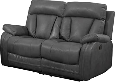 Amazon.com: Homelegance Aggiano Double Power Reclining ...