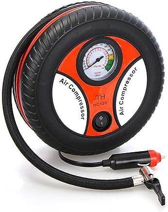 Heartte® Mini Portable Car Air Compressor 12V Electric Auto Tire Pump/Inflater (RH